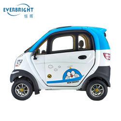 3 Auto met 4 wielen Met lage snelheid van de Mobiliteit van zetels de Elektrische Mini met de Batterij van het Lithium