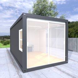 صغيرة مستودع [ريكتد] فولاذ منزل شمسيّة [فولدبل] حديث قبة [برفب] غرفة حمّام