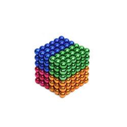 짜개진 조각 금 혼합 다채로운 Neocube 5mm 6mm 7mm 자석 공