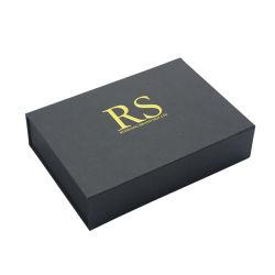 内部の包装を用いるカスタムペーパー黒いパッキングギフトUSBボックス
