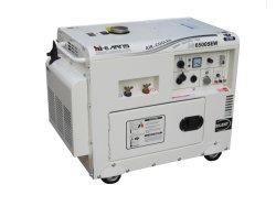 赤いカラー(DG6500SEW)の溶接の無声ディーゼル発電機