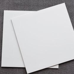 따뜻한 느낌의 흰색 세라믹 현대식 미끄럼 방지 무광 욕실 주방 거실 홈 디자인 장식용 벽 바닥 Porcelain Tile 600x600
