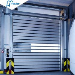 Puerta Espiral Automática de Alta Velocidad de Aleación de Aluminio con Aislamiento Térmico de Alta Velocidad / Puerta Rápida de Persiana Enrollable con Espuma