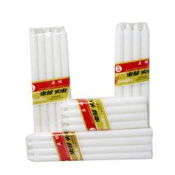 Venda por grosso de luz branca pura barata Vela de cera de parafina Stick