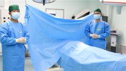 Estériles desechables Nonwoven Adhesivo Universal General pase quirúrgico Pack
