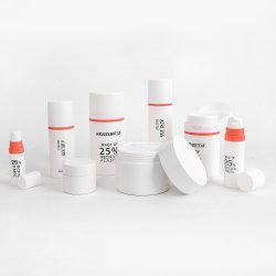 Cosmétique Écologique de l'emballage de plastique recyclé et bouteille Jar cosmétique