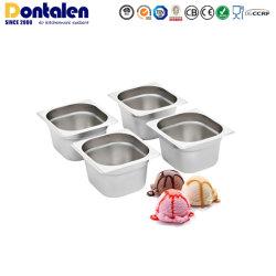Dontalen Ice Cream Acero inoxidable Hotel contenedor de alimentos Cocina Cookware Set Tool aparato Utensilios de cocina Gn Pan