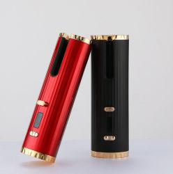 جهاز USB قابل لإعادة الشحن لتجعيد الشعر وأدوات التسريح السحرية، تسخين سريع مكواة من السيراميك لتجعيد الشعر تلقائياً للسفر