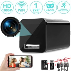 Nova Câmara Spx HD 1080p sem fio Carregador Nanny Cam