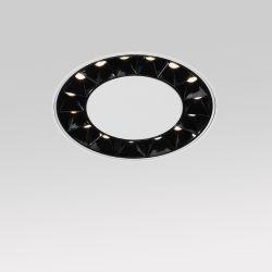 LED-Strahler aus Aluminium, rund, trimless, dimmbar