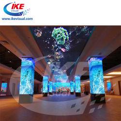 Video der Fabrik-LED mit ultra beweglicher mobiler Bendable faltbarer LED Video-Wand der Flexibilitäts-