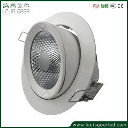 355 degré Ampoules LED réglable Spotlight éclairage LED Downlight Led de 5 ans de garantie COB Downlight Led lampe LED Lampe LED Spot encastré électrique commerciale