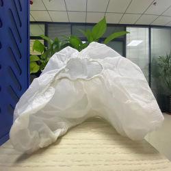 Белый цвет крышки башмака асептического зал используйте одноразовые крышки башмака