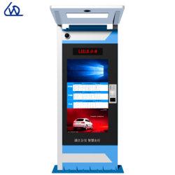 Mediasignage-Digitalanzeigen-im Freienbekanntmachenspieler für Busbahnhof