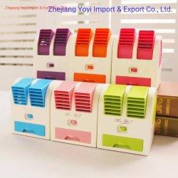 최신 인기 상품 휴대용 USB 소형 사막 공기 냉각기 팬, 물 공기 냉각기, 룸 공기 냉각팬