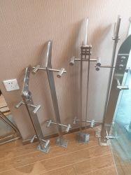 Inferriata di vetro/corrimano/balaustra dell'acciaio inossidabile dell'OEM per i montaggi della rete fissa scala/scala/giardino del terrazzo/del balcone dalla fabbrica della Cina