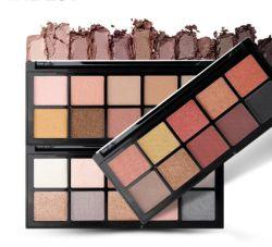 Alta calidad de la sombra de ojos maquillaje cosmético con etiqueta privada