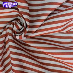 綿 100% ポプリンシャツ素材、プレーンウーブンプリント 春か秋か