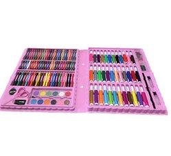 다채로운 아이들 학교 문구용품 고정되는 그림 문구용품 세트를 승진시키십시오