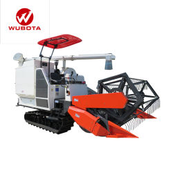 Kubota Wubota 360-degré semblable de blé à grain de riz à la vente de machines agricoles moissonneuse-batteuse prix bon marché