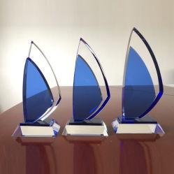 Nuovo trofeo blu del cristallo della vela 2020