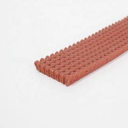 Strato perforato a temperatura elevata della gomma di gomma piuma del silicone