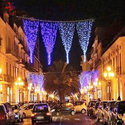 Weihnachtspole-Motiv-Licht-/Weihnachtsstraßen-LED beleuchteter Dekoration-im Freienlampen-Pfosten