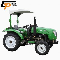 Tracteur agricole bon marché 25HP pour la vente à la Trinité de l'auvent