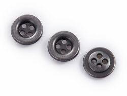 Metallform-Presse, welche die 4 Loch-dekorative Taste näht