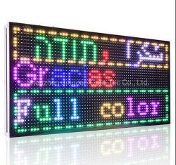 Segnale display LED a scorrimento programmabile a colori per esterni P8