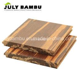 China Fabricante Tiger Strip e piso de bambu tecidos Strand impermeável