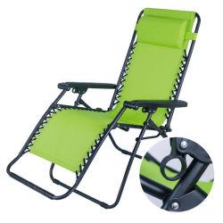 Presidenza piegante di campeggio del Lounger di Sun del Recliner del tessuto di resistenza all'acqua del giardino della spiaggia del patio esterno
