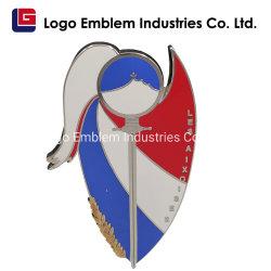 Fabricante de alta qualidade e baratas Custom Imitação gold plating com design de logotipo personalizado grossista promocional do pino de lapela de Metal