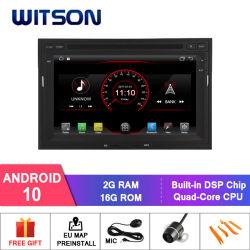 Automobile DVD del sistema del Android 10 di Witson per Peugeot 3008/5008