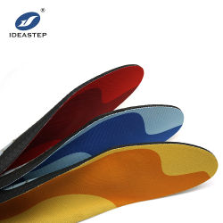 Flat Foot Arch Supportの靴の中敷Orthotic SupplierのためのIdeastep Cushionの靴の中敷そしてHeated Shoeの靴の中敷