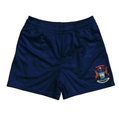 Sleeves China-Fertigung-billig Großverkauf-normales Rugby-Hemd-kundenspezifischer Breathable Kurzschluss Superrugby-Jersey-athletischen Rugby-Team-Kurzschluss