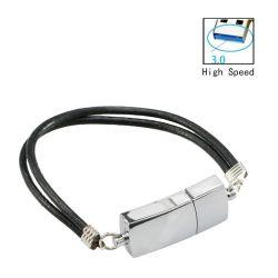 محرك أقراص USB 2.0 محمول حزام معصم معدني من الصفيح المدف سعة 8 جيجابايت ذاكرة USB سعة 16 جيجابايت للهدية