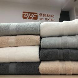 Premium 100% algodão Dobby cor sólida 3 PCS de toalha de banho definido