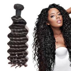 Mayorista de fábrica 100% Remy cabello virgen tejer brasileñas de productos de cabello humano.