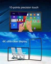 Schermo LCD da 32 pollici 43 pollici, schermo tattile capacitivo, TV LED da 32 pollici