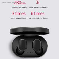 A6s Tws 무선 Bluetooth 헤드폰 모든 지능적인 전화를 위한 HD 마이크를 가진 소형 Earbuds를 취소하는 입체 음향 스포츠 소음