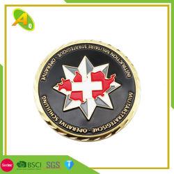 عملات معدنية خاصة ذات لون المينا الناعم/لون محار صلب لتحدي الهدايا التذكارية/ الترويجية (العملة-137)