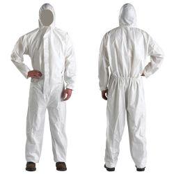 Costume de protection jetables Coverall de la sécurité des vêtements de protection résistant aux huiles