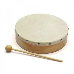Kindergarten-hölzerne Handtrommel-Musikinstrument