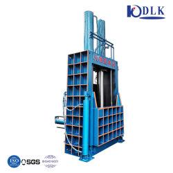 Promoções mensais Vertical Hidráulica enfardadeira de sucata de resíduos plásticos prensa de papel da máquina de enfardamento