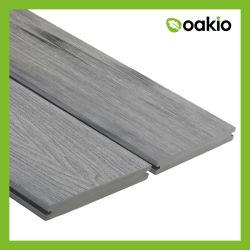 Materiales de construcción exterior de madera de WPC piso compuesto de plástico de la pantalla verde de la junta de la Plataforma Eco