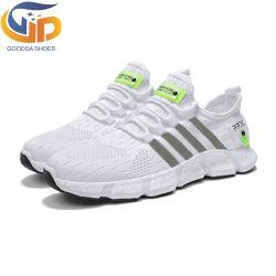 Китай заводской оптовой Flyknit верхний мужчин кроссовки мужчин спортивную обувь