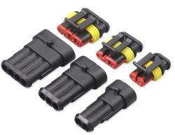 La fabrication 1p 2p 3p 4p 5p 6P étanche du connecteur du faisceau de fils du connecteur du faisceau de câblage de l'automobile plug