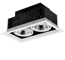 15 Вт*2 146*276 мм потолок дома СВЕТОДИОДНЫЙ ИНДИКАТОР фонаря направленного света на решетке