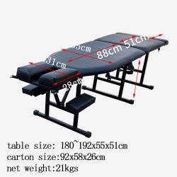 新しい脊柱指圧テーブル検査テーブルの適性装置のサロンの家具